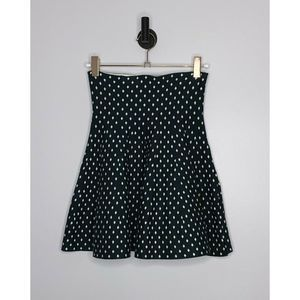 WET SEAL Fit And Flare Polka Dot Skirt Size M/L